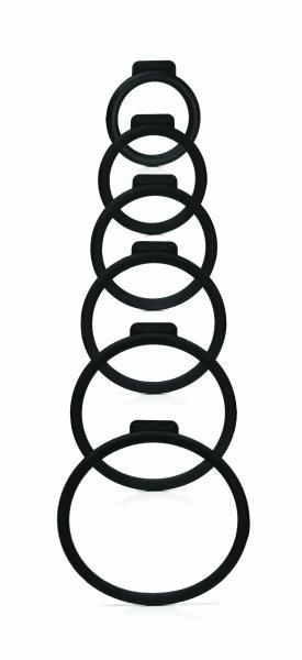 Tantus Silicone O Rings Set 6 Pack