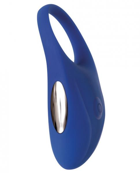 The Rechargeable Couples Penis Ring Blue