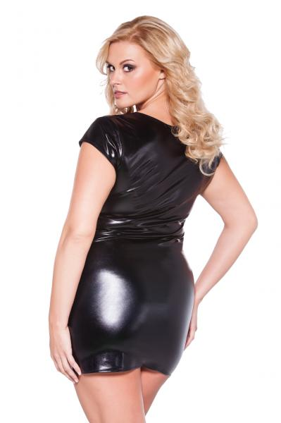 Kitten Flirty Dress Black Queen