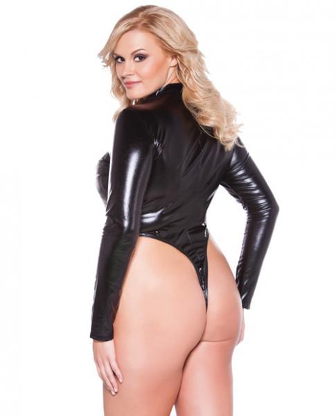 Kitten Naughty Bodysuit Black Queen