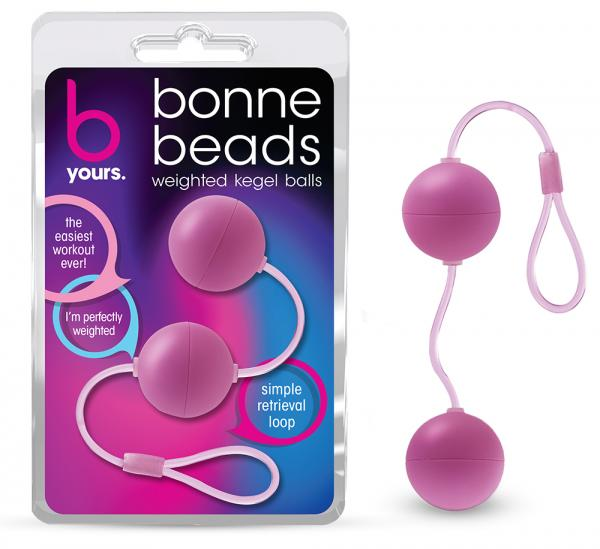 Bonne Beads Weighted Kegel Balls Pink