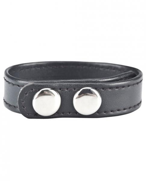 C & B Gear Snap Cock Ring Black 2
