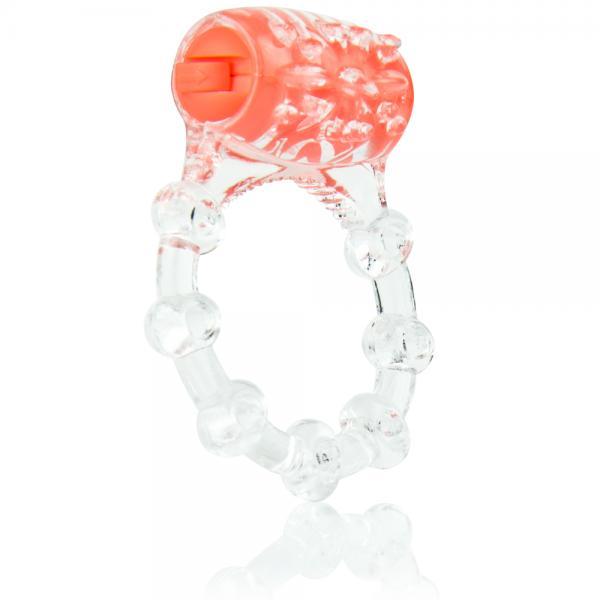 Color Pop Quickie Vibrating Ring Orange