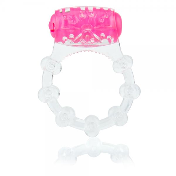 Color Pop Quickie Pink Vibrating Ring