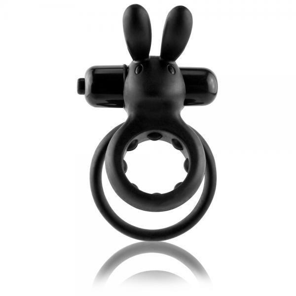 OHare Rabbit Vibrating Ring - Black