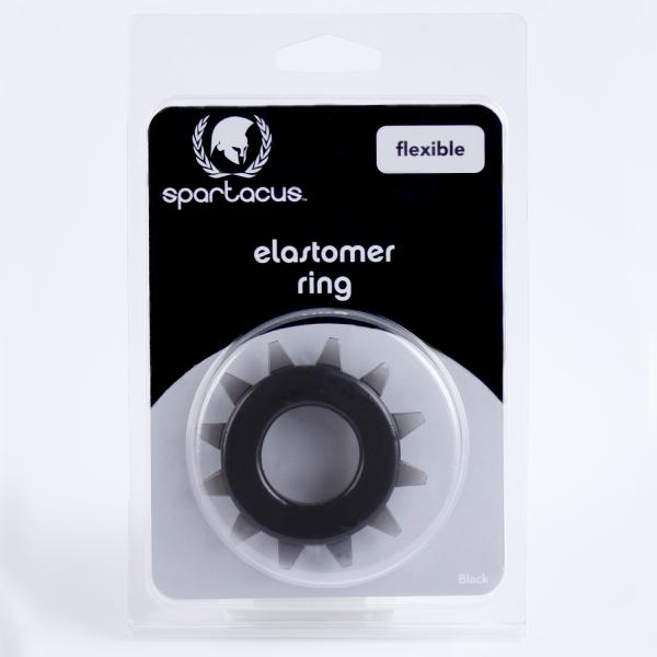 Stud Elastomer C Ring - Black
