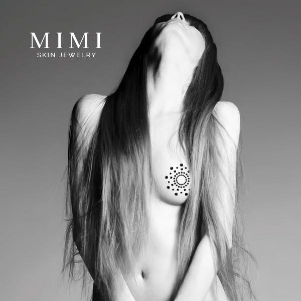 Mimi Nipple Covers Skin Jewelry Silver