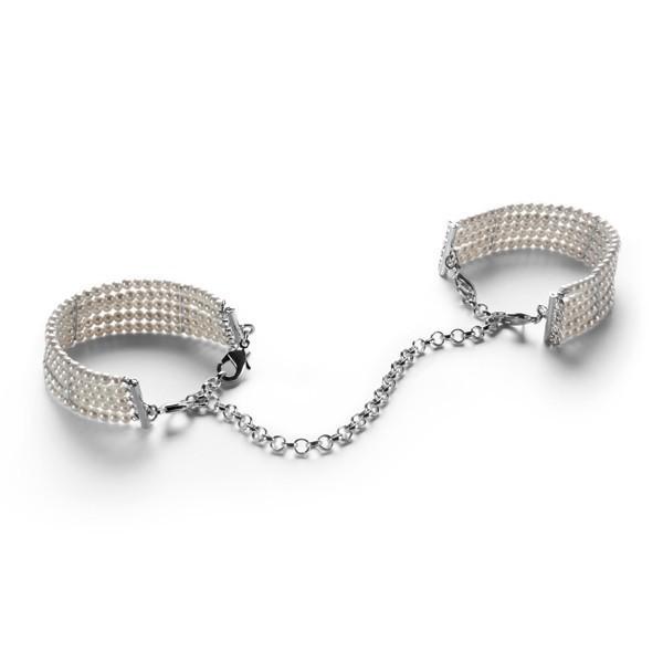 Bijoux Indiscrets Plaisir Nacre Handcuffs Pearl