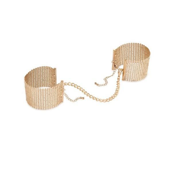 Desir Metallique Handcuffs Gold