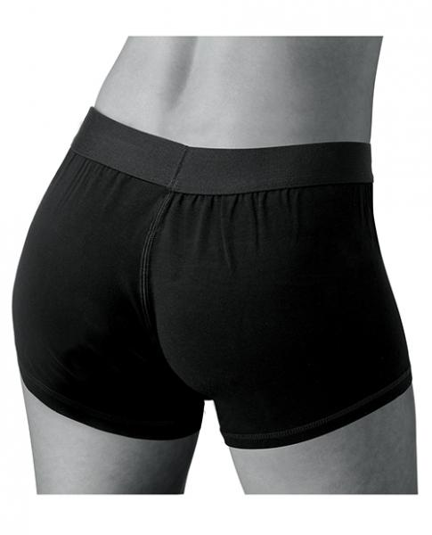 Easy Riders Quinn Strap On Harness Shorts Black M/L