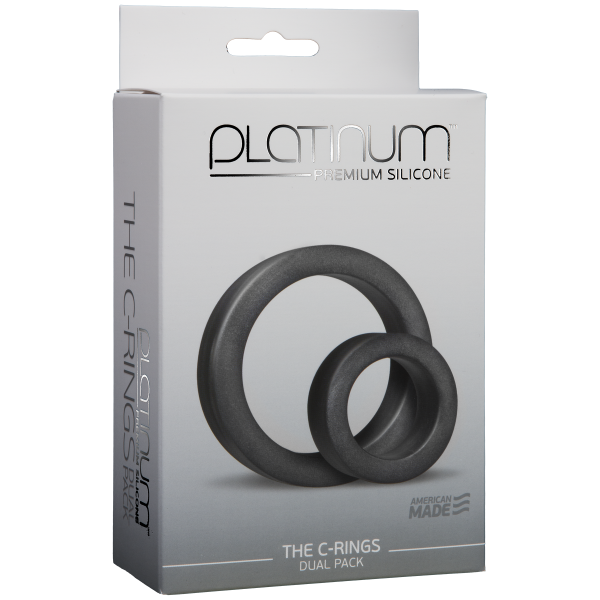 The C Rings Black Two Pack