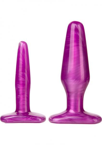Radiant Gems Anal Trainer Kit - Purple