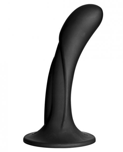 Vac-U-Lock G-Spot Silicone Dong Black Attachment
