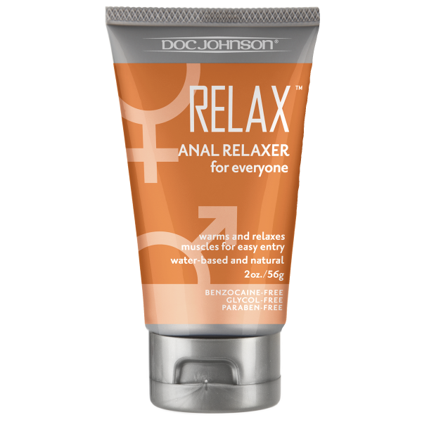 Relax Anal Relaxer Tube 2oz