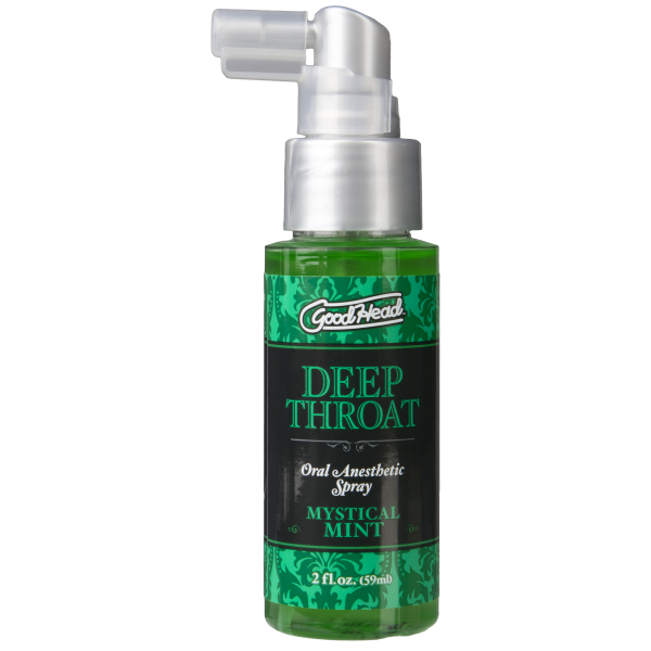 Goodhead Deep Throat Spray Mystical Mint 2oz