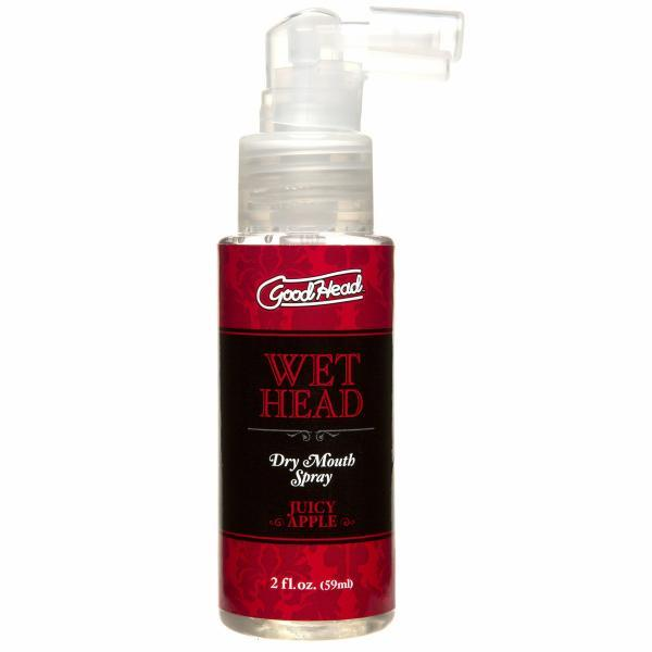 Goodhead Wet Head Spray Bottle Red Apple 2oz