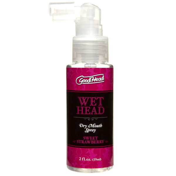 Goodhead Wet Head Spray Bottle Strawberry 2oz