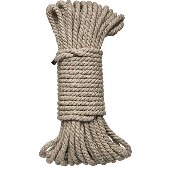 Kink Bind & Tie Hemp Bondage Rope - 50 Ft