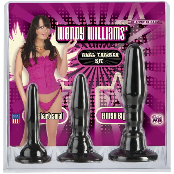 Wendy Williams Anal Trainer Kit - Black