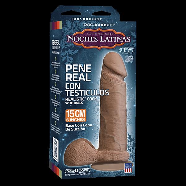 Noches Latinas UR3 Pene Real Con Testiculos 6.5 inch