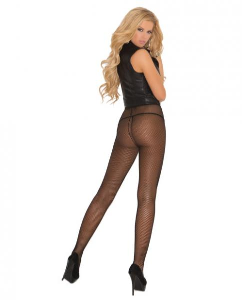Fishnet Pantyhose Black One Size Queen