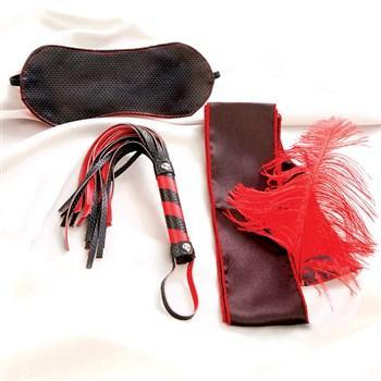 Scarlet Bondage Kit Red/Black