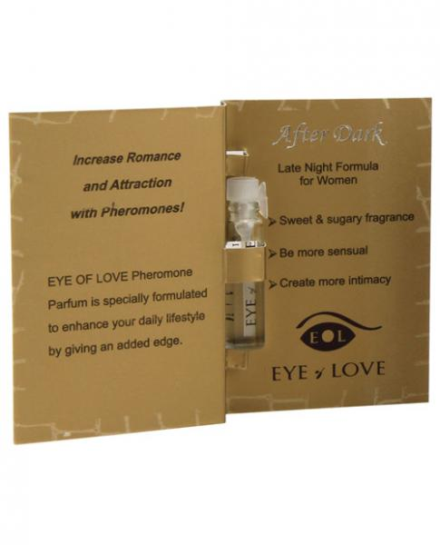 Eye Of Love Pheromone Perfume Sample 1ml After Dark