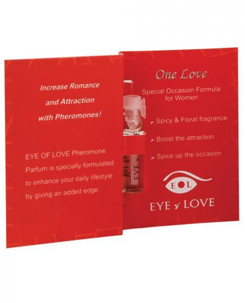 Eye Of Love Pheromone Parfum Sample One Love .03oz