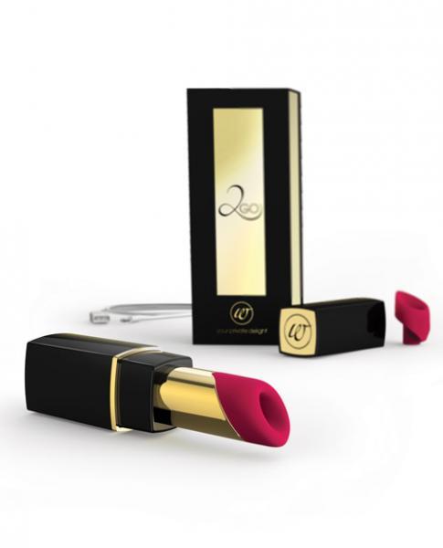 Womanizer 2 Go Black Gold Lipstick Vibrator