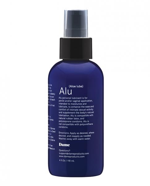 Dame Alu Aloe Based Lubricant 4 fluid ounces