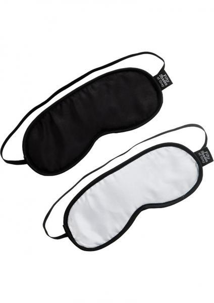 Fifty Shades of Grey No Peeking Soft Twin Blindfold Set