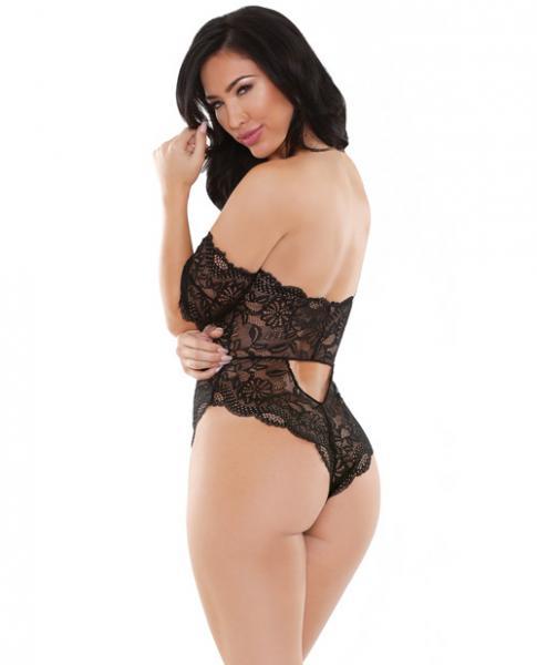 Romp Brittany Lace Playsuit Black S/M