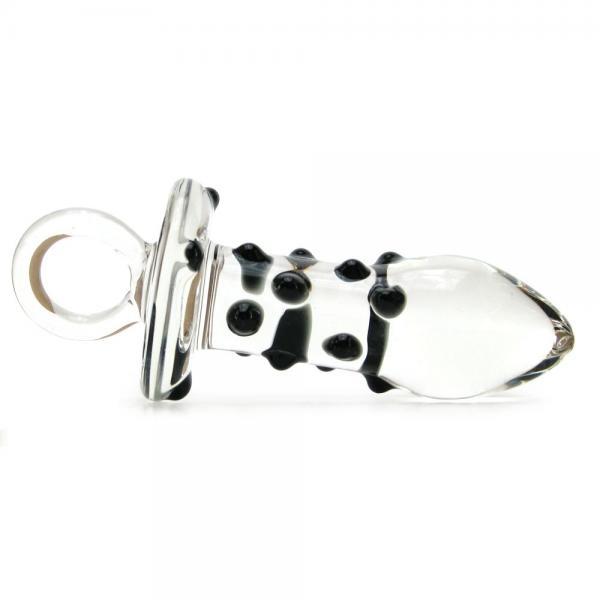Glas Pacifier Glass Butt Plug