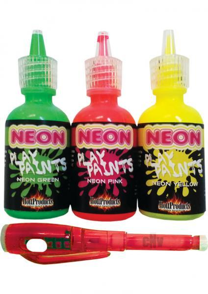 Neon Body Paints 3 Pack