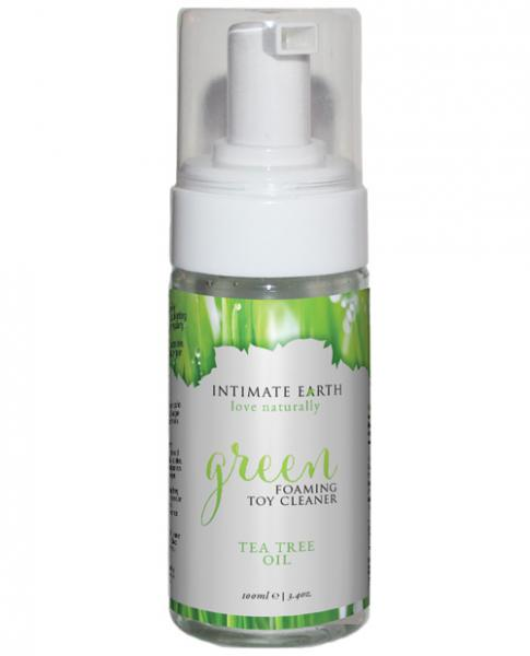 Intimate Earth Green Tea Oil Foaming Toy Cleaner 3.4oz