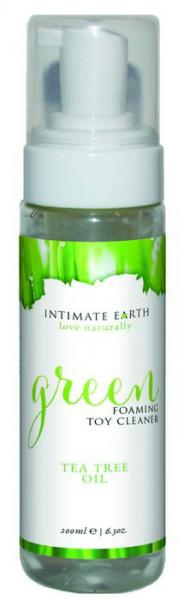 Intimate Earth Green Tea Tree Oil Foaming Toy Cleaner 6.3oz