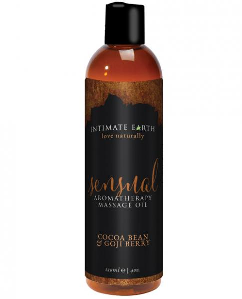 Intimate Earth Sensual Massage Oil 4oz