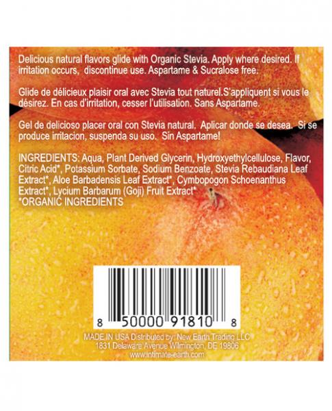 Intimate Earth Naughty Nectarines Glide Foil Pack .10oz