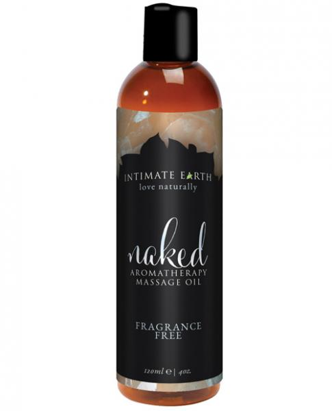 Intimate Earth Naked Massage Oil 4 oz