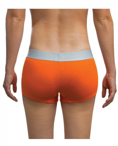 Jack Adams Women's Lux Modal Boyshorts Orange Sm