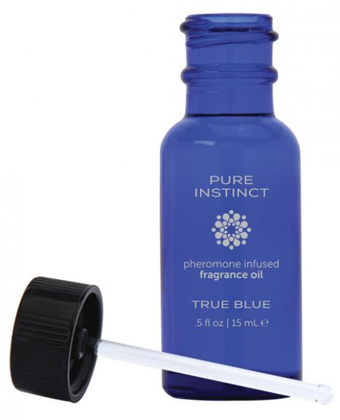 Pure Instinct Pheromone Fragrance Oil True Blue .5oz