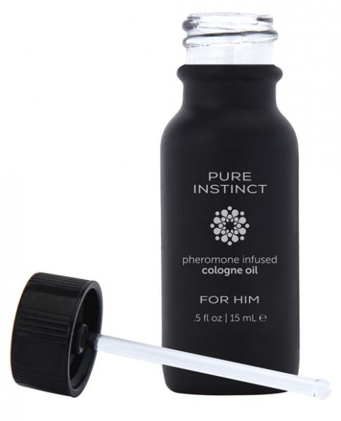 Pure Instinct Pheromone Cologne Oil For Him .5 fl oz