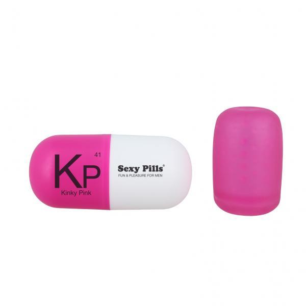Sexy Pills Mini Masturbator Kinky Pink Box Of 6