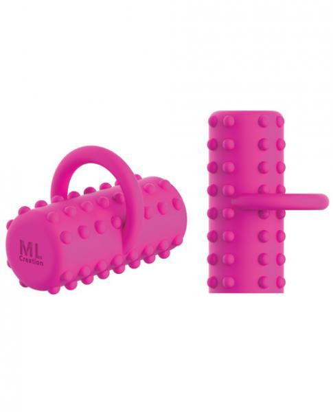 ML Creation Power Finger-A Vibrator Rose Pink