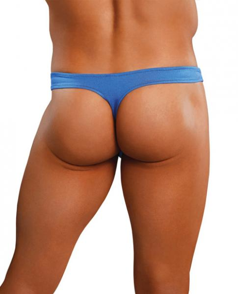 Satin Bong Thong Blue S/M