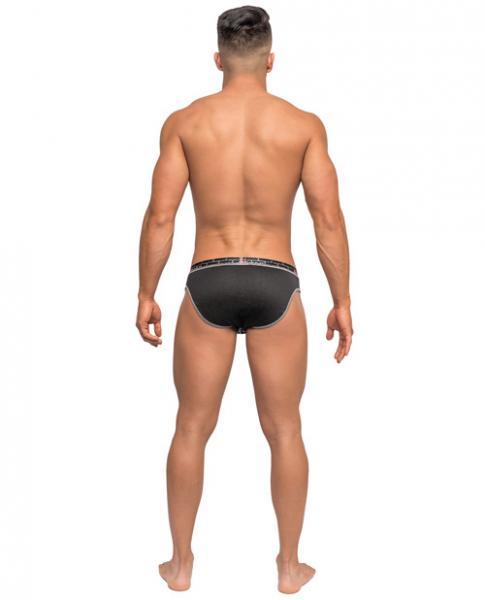 Reversible Dual Toned Bikini Briefs Black XL