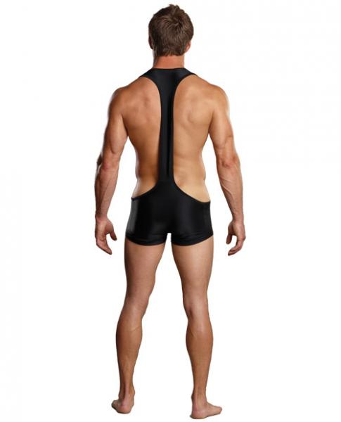 Male Power Sling Short Black L/XL