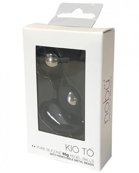 Nobu Kio To Training Size Chrome Beads Black