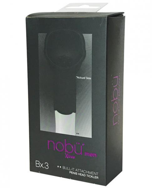 Nobu Bull-It Penis Head Tickler Attachment Black
