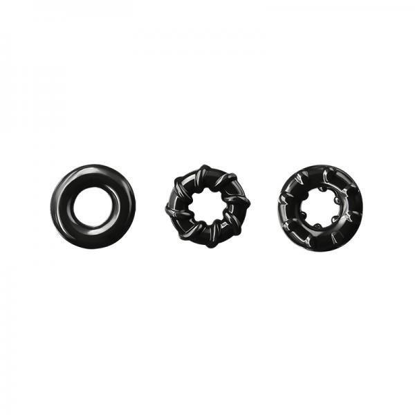 Renegade Dyno Rings Black 3 Pack